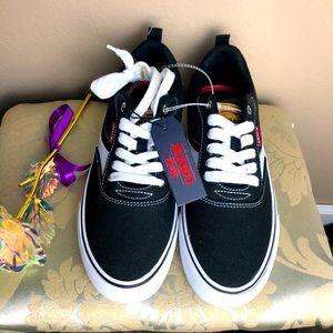Levi's Sneakers Men's Canvas Black & White 8.0 NWT